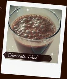 Chocolate Chai Shakeo